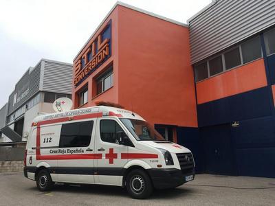 VW Crafter Cruz Roja Telecomunicaciones
